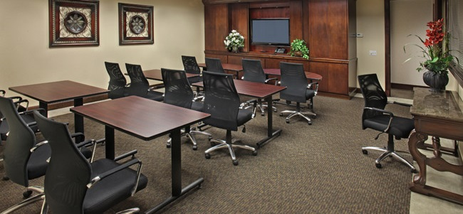 Town Center Large Board Room Set up for Trainingb